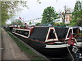 TQ2581 : Narrowboat on Grand Union Canal - Paddington Branch by PAUL FARMER