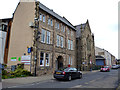 NY7064 : Haltwhistle:  Mechanics Institute and Methodist Church by Dr Neil Clifton