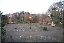 SU8653 : Empty car park, Farnborough Aerospace Centre by N Chadwick