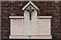 TL1407 : World War I Street Memorial, Verulam Road by Ian Capper