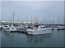 TQ3303 : Boats in Brighton Marina by Paul Gillett