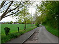 SP3464 : Church Lane Radford Semele by Nigel Mykura