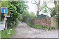 SJ9382 : Narrow Lane/Moggie Lane junction by Peter Turner