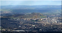 NT2274 : Central Edinburgh from the air by Thomas Nugent