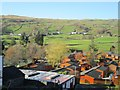 NY4103 : Troutbeck village seen from above Limefitt Caravan Park by Graham Robson