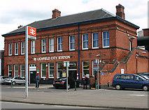 SK1109 : Lichfield City station by David Kemp