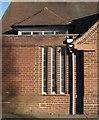 SP1267 : Ullenhall Village Hall, detail by Robin Stott