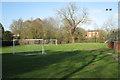 SP1267 : Ullenhall junior footbball pitch by Robin Stott