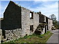 NY8056 : Ruin and dwelling house at Hollybush by Oliver Dixon