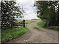 NY4970 : The entrance to Whiteclose Farm by Ian S