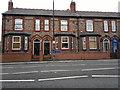 SJ7688 : 100 to 96 Manchester Road, Altrincham by Steven Haslington