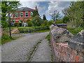 SD7506 : Former Nob Inn, Nob End by David Dixon