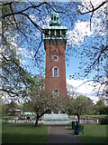 SK5319 : Carillon Tower & War Memorial - Queen's Park by Betty Longbottom