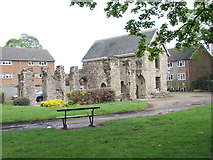 SK5319 : The Old Rectory - off Rectory Place by Betty Longbottom