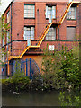 SD7707 : Apex Mill Fire Escape by David Dixon
