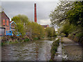 SD7707 : Manchester, Bolton and Bury Canal in Radcliffe by David Dixon