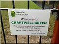 SU4514 : Chartwell Green sign by Dave Waghorn
