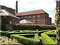 TQ7569 : Knot Garden, Chatham Historic Dockyard by David Anstiss