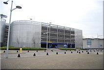 TQ7669 : Car park, Dickens World by N Chadwick