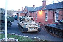 SU8753 : Tanks, Aldershot Military Museum by N Chadwick