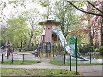 SK5319 : Play Area - Queen's Park by Betty Longbottom