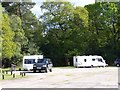SU2411 : Ocknell Caravan Site by David Martin