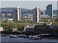 TQ3479 : Rotherhithe from Tower Bridge by Colin Smith