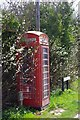 TL4148 : Telephone box on Fowlmere Road, Foxton by Ben Harris
