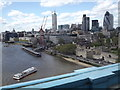TQ3380 : Tower Pier from Tower Bridge by Colin Smith