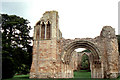 SJ7314 : Lilleshall Abbey: west front by Christopher Hilton