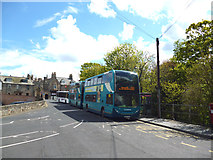 NT9953 : Berwick-upon-Tweed:  Buses from the station by Dr Neil Clifton