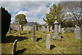 NJ8826 : Country churchyard by Bill Harrison