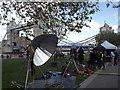 TQ3380 : Recording Al Fresco by Colin Smith