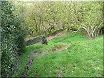 SE0421 : Sowerby Bridge Footpath 135 approaching Rough Hey Wood, Norland by Humphrey Bolton