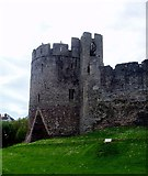 ST5394 : Chepstow Castle - Marten's Tower by Rob Farrow