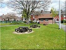 SJ9297 : Oxford Park Picnic Area by Gerald England