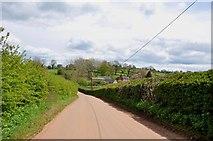 SK1342 : Downhill on Sides Lane towards Knaveholm Farm by Mick Malpass