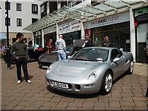 SP2871 : Kenilworth cars at Supercar Sunday (2) by John Brightley