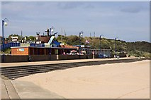 TF5085 : The promenade at Mablethorpe by Steve Daniels