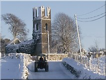 M2679 : Mayo Abbey in the snow, 20/12/2010 by colwynboy