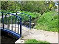 SP0383 : Bourn Brook Footbridge by Roy Hughes