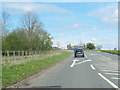 NY5422 : Junction for Great Strickland from A6 north by John Firth