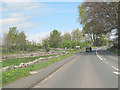 NY5323 : A6 north approaching New Road Junction by John Firth