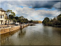 TL0549 : River Great Ouse, Bedford by Paul Gillett