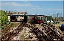 TQ3203 : Volk's Electric Railway, Brighton by Peter Trimming