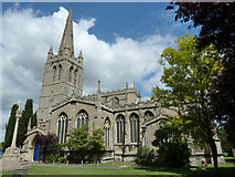 SK8608 : All Saints' church by Richard Croft