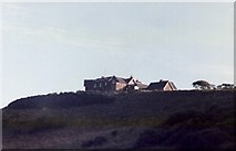 NT9166 : Coldingham Youth Hostel from Coldingham Bay by Elliott Simpson