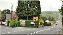 J3267 : Two roads at Ballylesson, Belfast by Albert Bridge