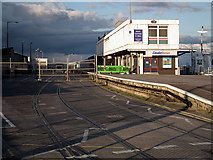 SY6878 : The disused Weymouth Quay railway station by John Lucas
