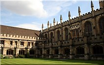 SP5206 : The Great Quad, Magdalen College, Oxford by Jeff Buck